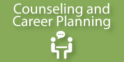 Counseling and Career Planning Button