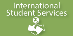 International Student Services Button