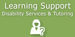 Learning Support Services Button